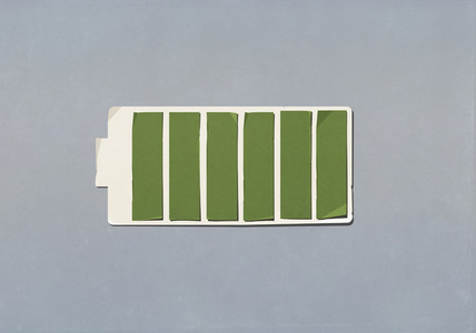 Full green battery indicator