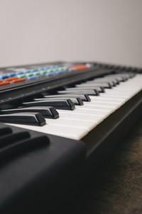 Synthesizer keyboard