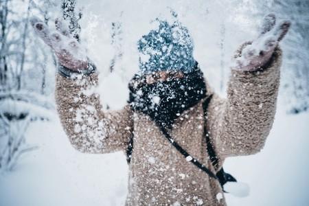 Joy in the snow