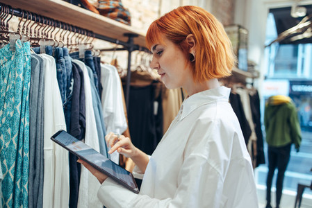Taking her clothing store into the online market place