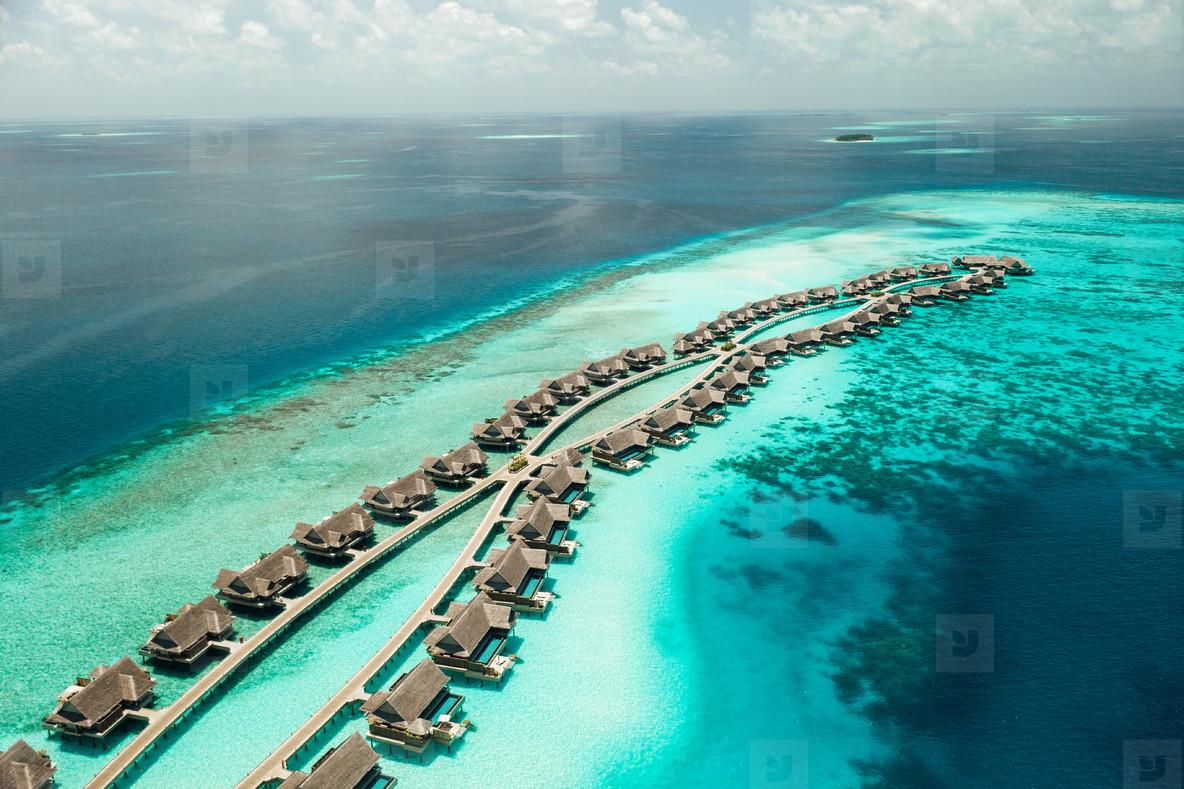 Holiday at a tropical island