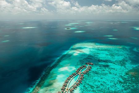 Tourist destination on tropical islands