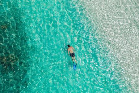 Relaxing getaway to an exotic island