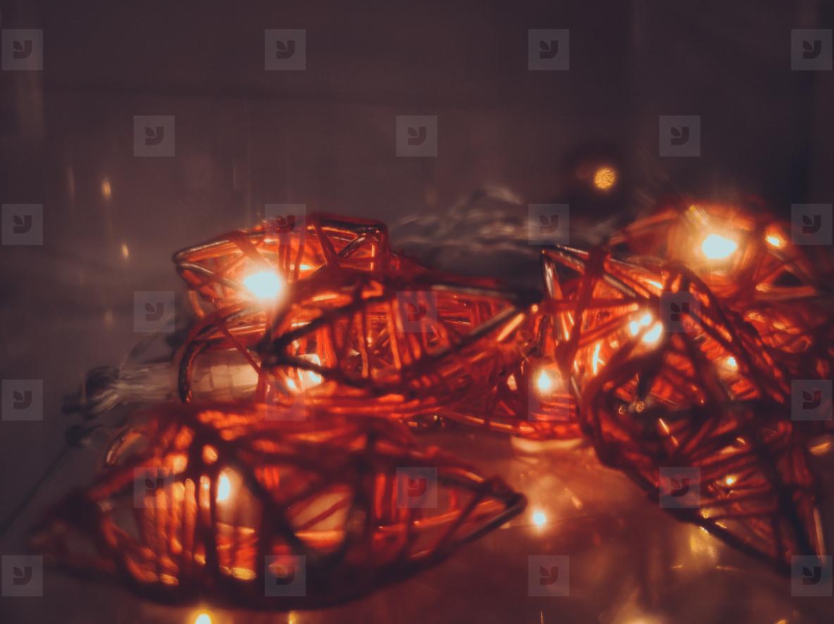 Many decoration new lights shining