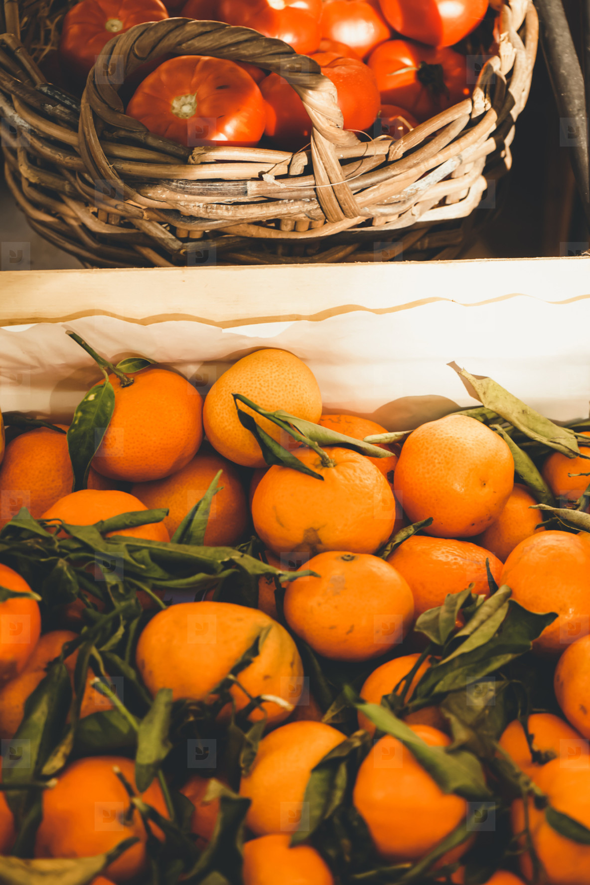 Valencia  Spain  delicious seasonal clementines