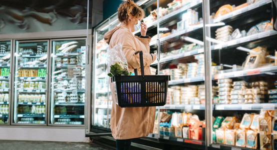 Shopping grocery during pandemic