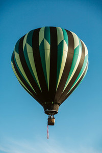Dark Hot Air Balloon