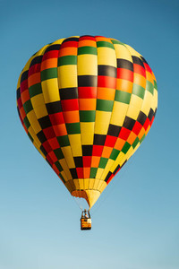 Bright Hot Air Balloon
