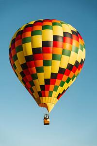 Bright Hot Air Balloon