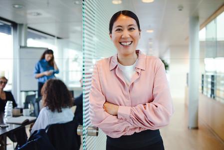 Portrait of successful female professional