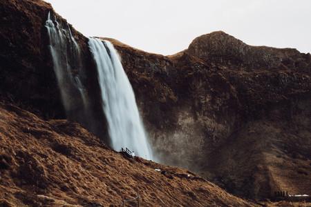 Seljalandsfoss Waterfall  Icelan