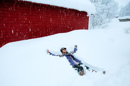 Women in Snow  Norway