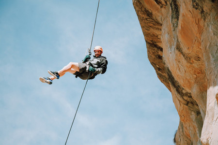 Abseiling  Clarens  South Africa