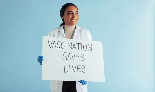 Vaccination saves lives