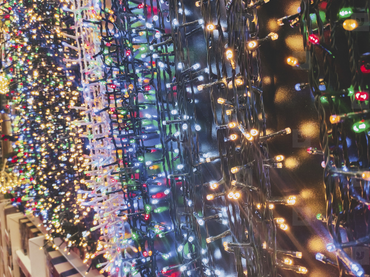 Brilliant image of a lot of christmas lights