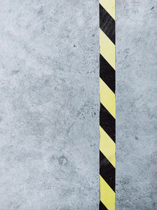 Grunge background with a line what is a sign of caution