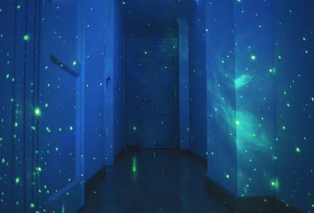 Lights in the hallway