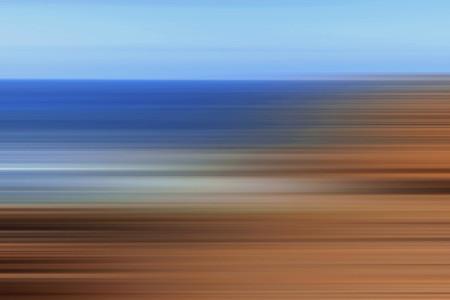 Landscape out of focus