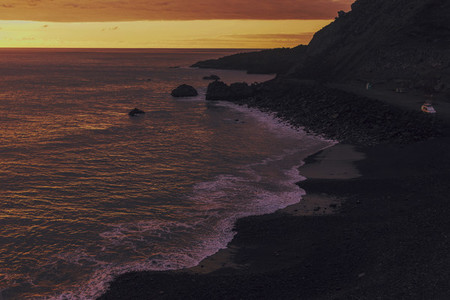 Sunset in La Palma