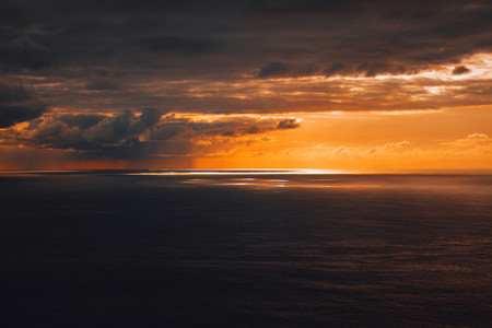 Landscape of a sunset