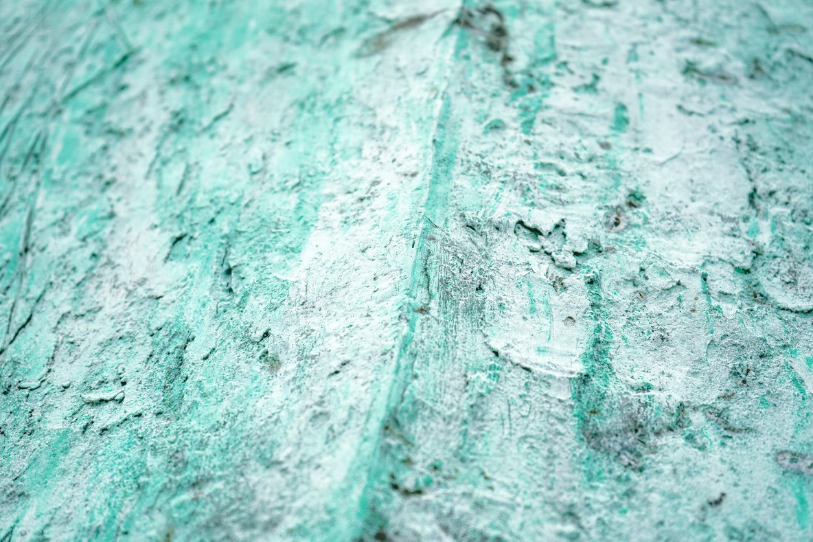 Rough texture with corrosion
