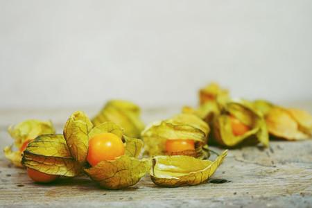 Beautiful and elegant macro close up of a lot orange tasty fruit