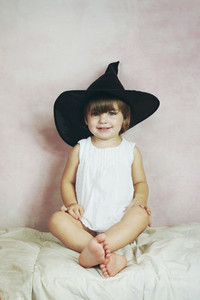 Portrait of a lovely little girl