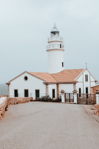 Faro Capdepera  Mallorca Island  Spain