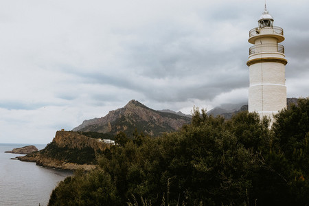 Far des Cap Gros Lighthouse Mallorca