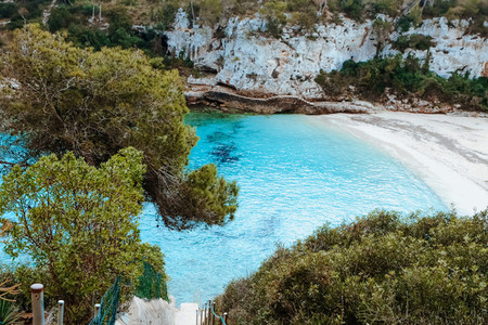 Cala Llombards Beach Mallorca Island Spain