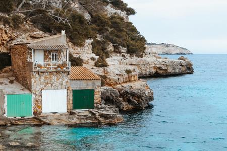 Cala Llombards Beach  Mallorca Island  Spain