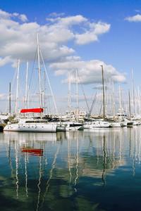 Palma Port  Mallorca Island  Spain