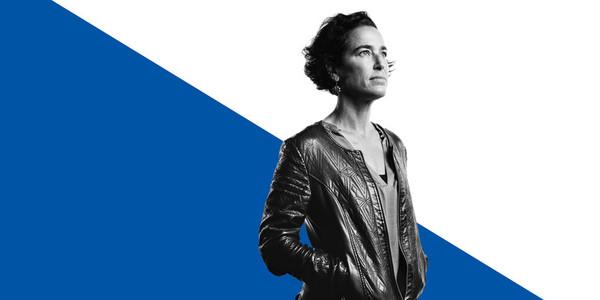 Portrait of woman in a jacket