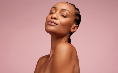 Natural Beauty with fresh and clean skin