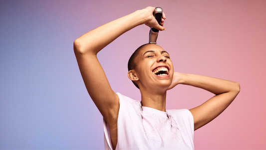 A woman who cuts her hair is about to change her life
