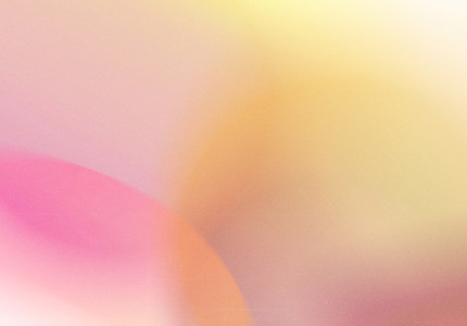 Abstract gradient blurred pattern colorful with realistic grain