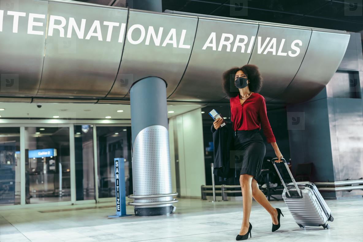 International air travel during pandemic