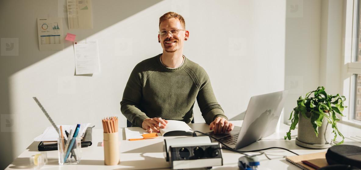 Creative Entrepreneur Portrait