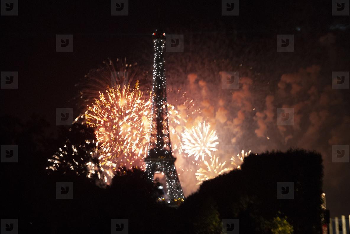 Eiffeltower Fireworks  8