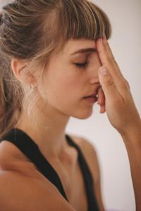 Alternate nostril breathing exercise