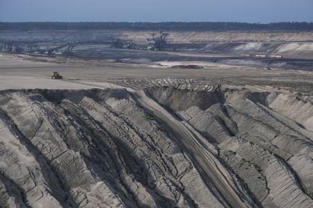 Open pit lignite mine Germany