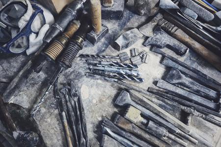Rustic sculptor tools