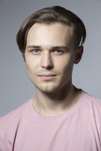 Close up portrait handsome young man