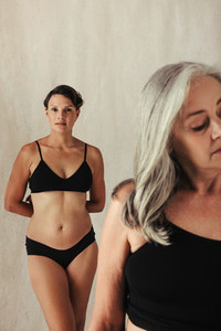 Embracing aging and being natural