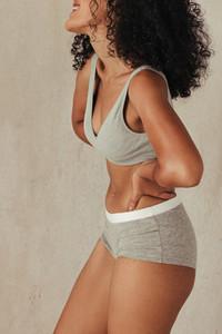 Unrecognizable natural female body