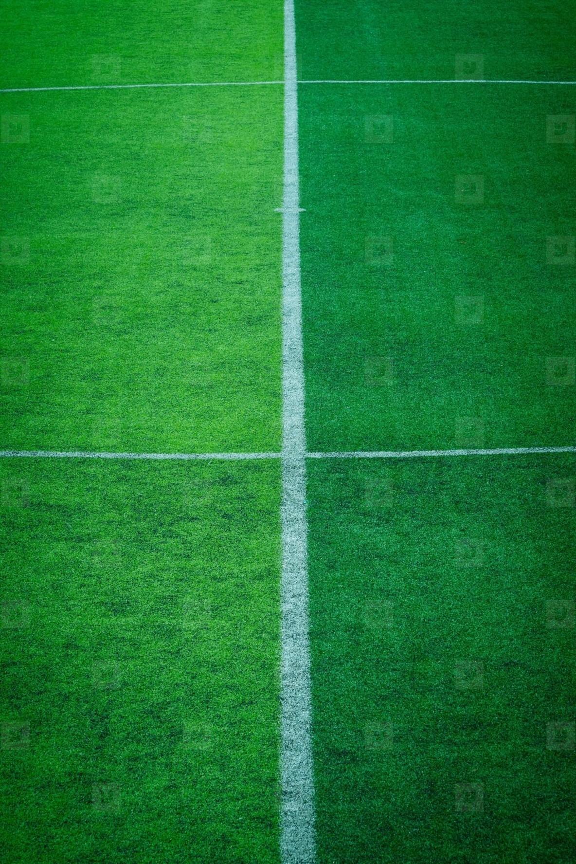 artificial turf of Soccer footba