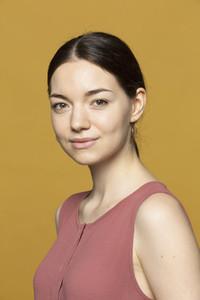 Portrait beautiful smiling young woman
