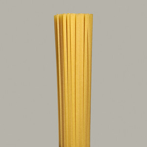 Close up bunch of uncooked spaghetti noodles