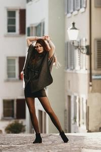 Attractive female model 4