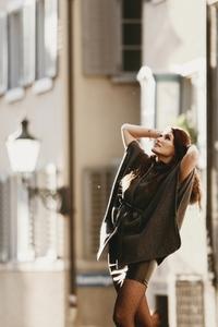 Attractive female model